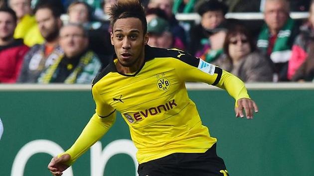 Dortmund striker Aubameyang