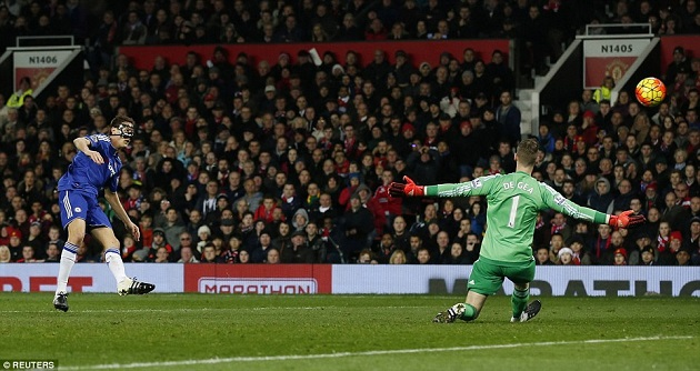 De Gea makes save in Chelsea-United
