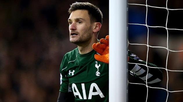 Tottenham keeper Hugo Lloris