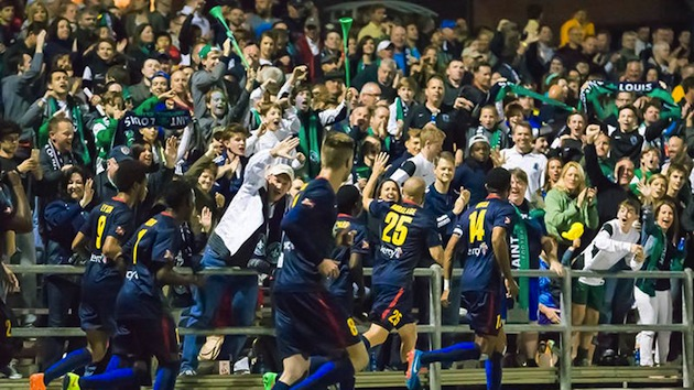 St. Louis FC supporters