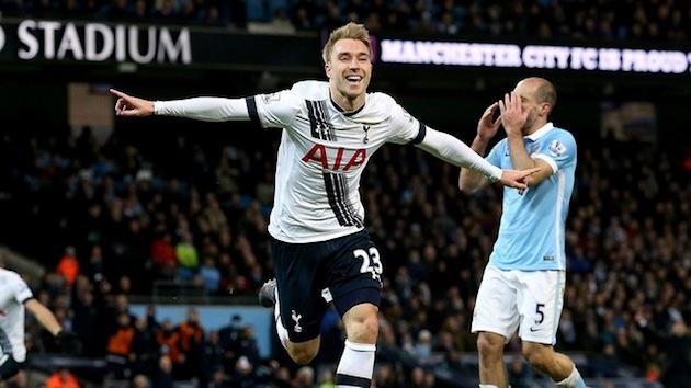 Eriksen scores winner for Spurs