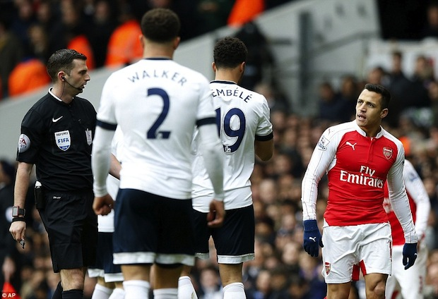 Tottenham vs. Alexis Sanchez in North London derby