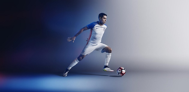 Dempsey in 2016 USA Home Jersey