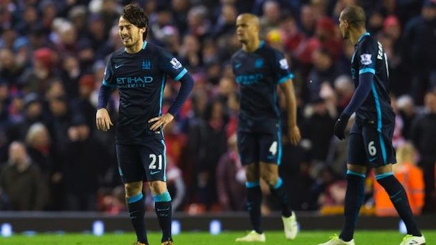 Man City lose to Liverpool