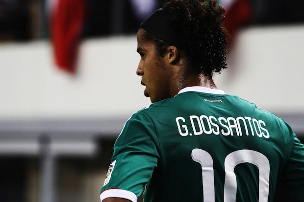 Mexican forward Gio dos Santos