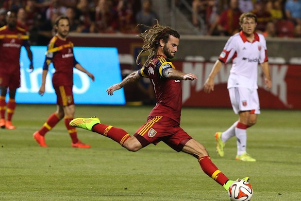 Real Salt Lake star Beckerman