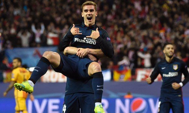 Griezmann scores to beat Barcelona