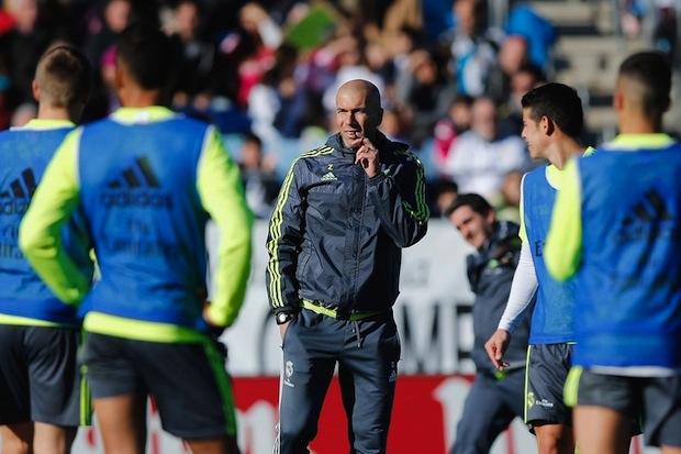 Zidane, Real Madrid manager