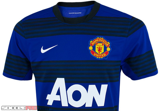 The 2011-12 Manchester United Away Jersey