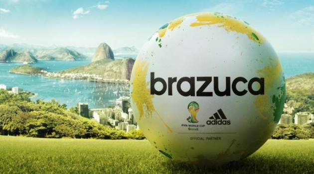Adidas Unveil the Brazuca Ball: The Official Match Ball of the 2014 World Cup