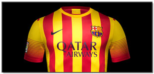 Revealed: Nike Launch 2013-14 Barcelona Home and Away Jerseys…(Images)
