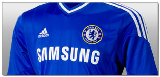 adidas 2013-2014 Chelsea Official Home Jersey Unboxing