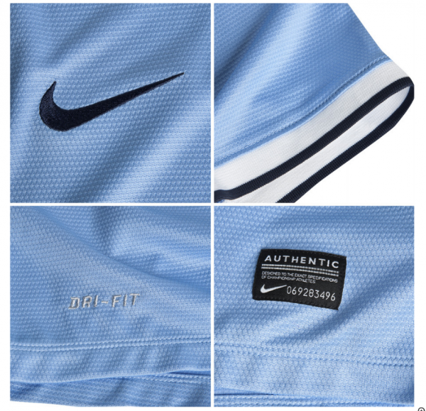 Nike 2013/14 Manchester City Jersey Close-Ups