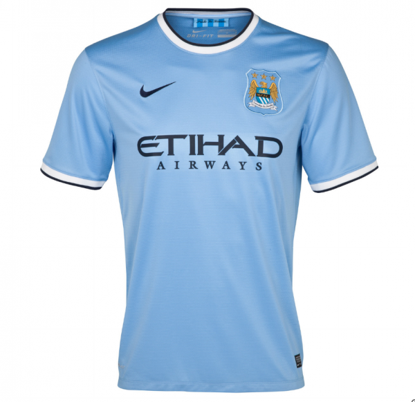 Nike 2013/14 Manchester City Jersey