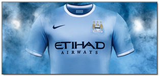 Nike Launch Their First Manchester City Jersey for the Upcoming 2013/14 Season