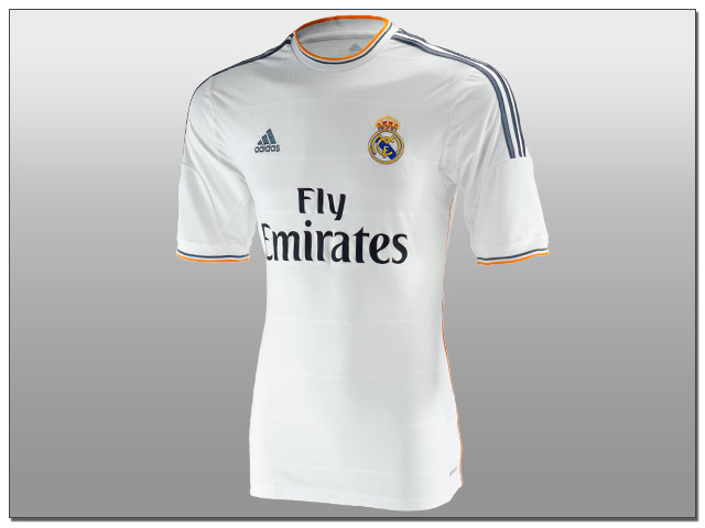 brand new 0d084 36459 Adidas Reveal 2013/14 Real Madrid Home Jersey....(Video) - The Center  Circle - A SoccerPro Soccer Fan Blog