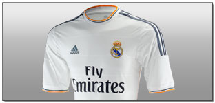 Adidas Reveal 2013/14 Real Madrid Home Jersey….(Video)