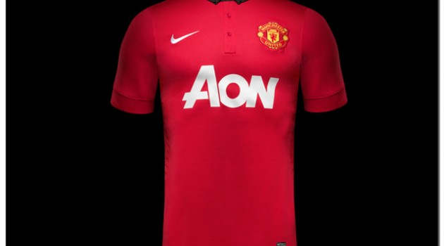 Nike Unveil New 2013/14 Manchester United Home Jersey