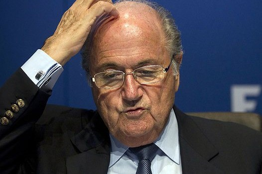 Blatter Continues Parade of Idiocy