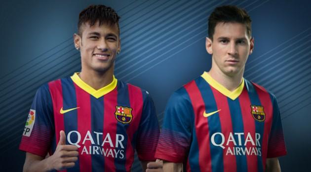 Neymar + Messi = Goals