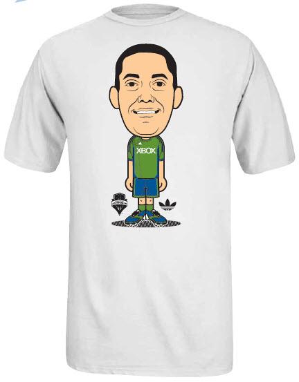 Clint Dempsey, Sounders Shirt