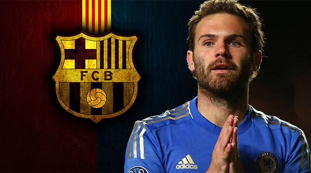 Barcelona to Woo Mata?