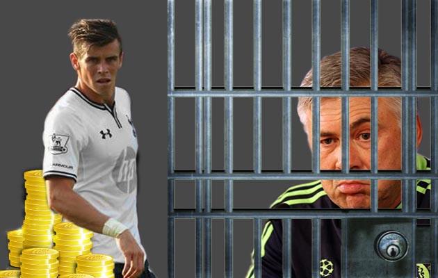 Gareth Bale Madrid Ancelotti