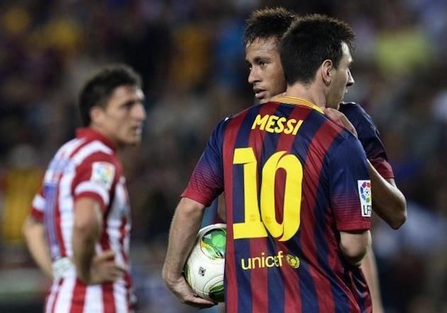 Messi-Neymar-Barca