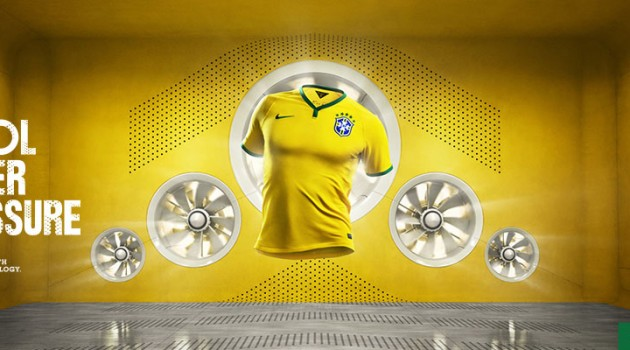 Nike Keeps Brazil Cool with the World Cup Home Kit