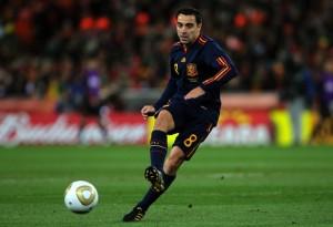 Xavi-Spain-away