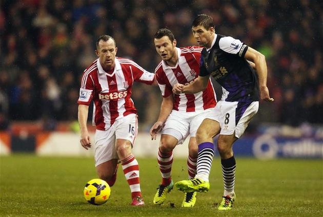 Steven Gerrard vs. Stoke