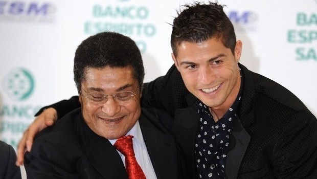 Ronaldo Pays Tribute To Portugal Great Eusebio
