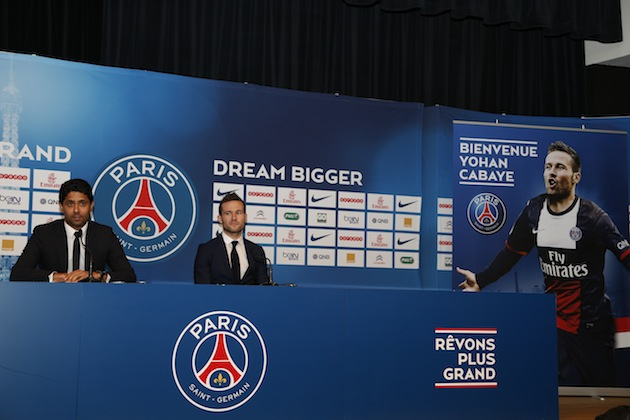 PSG signs with Cabaye