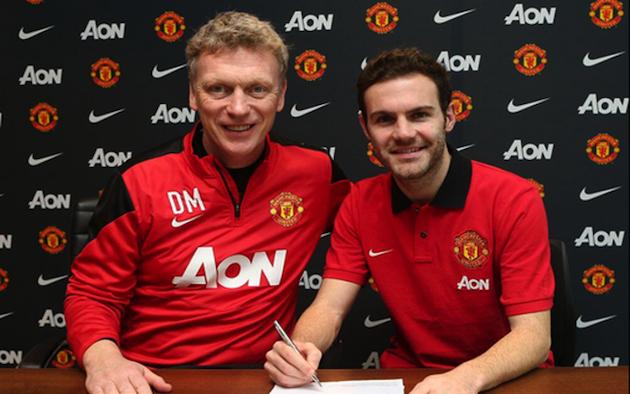 Juan Mata to Man United