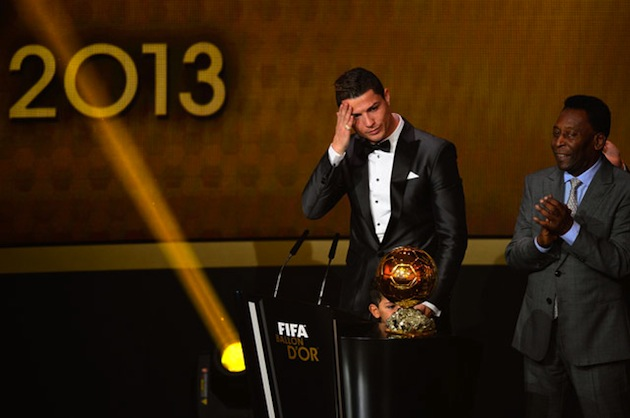 Pele and Ronaldo at Ballon d'Or