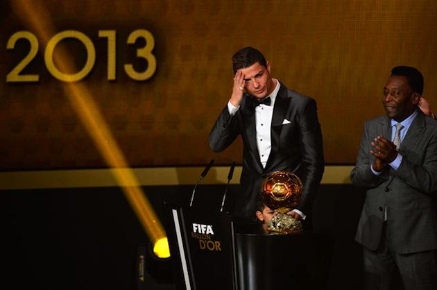 Pele and Ronaldo at Ballon d'Or