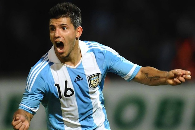 Aguero for Argentina