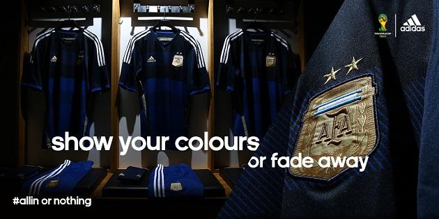 Full Argentina away kit