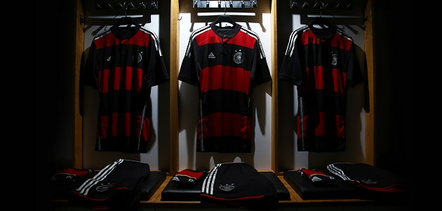 Full Germany away kit
