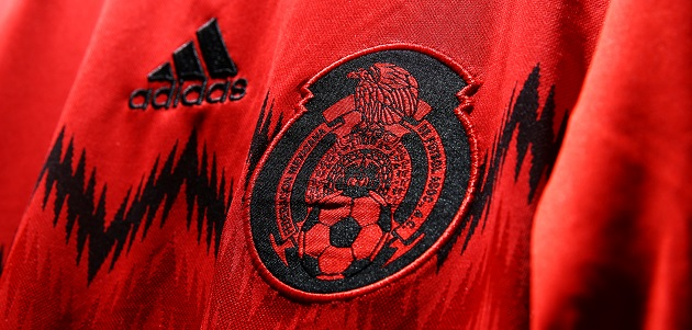 Mexico away crest