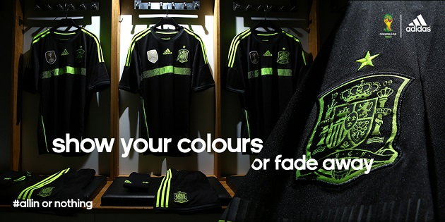 Spain Gets a Neon World Cup Away Kit from Adidas