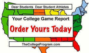The College Program: Emailing Coaches