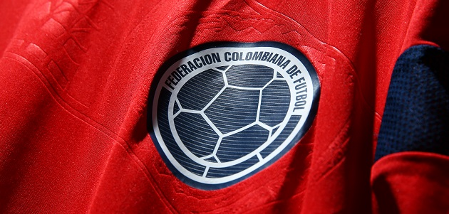 Colombia away jersey crest