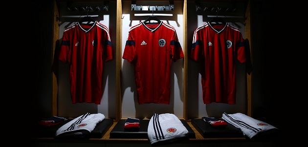 Colombia away kit full