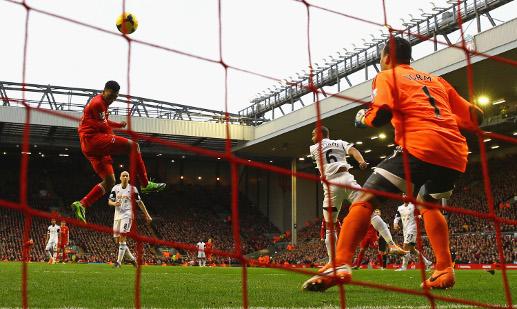 Liverpool's Sturridge scores