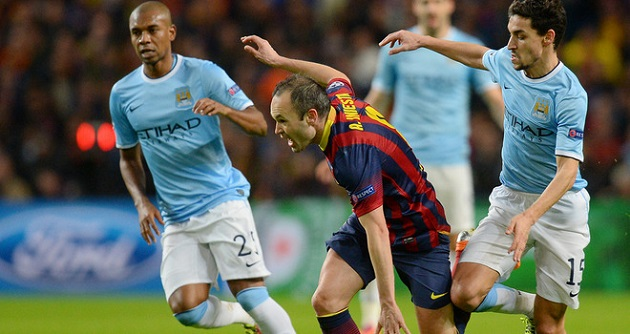 Man City v. Barcelona