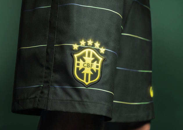 Brasil third kit shorts