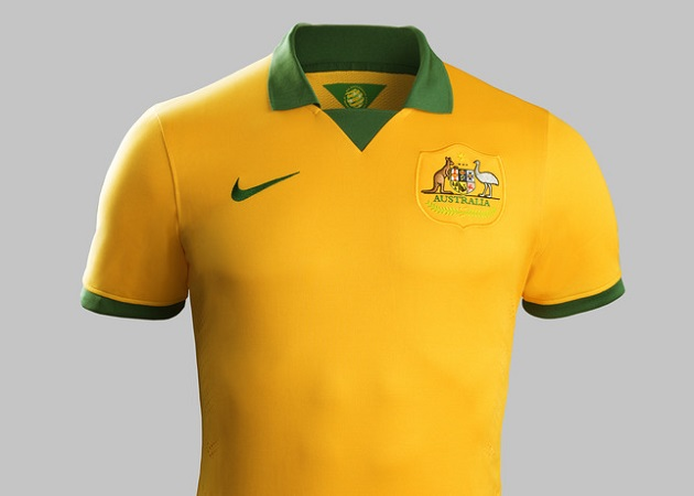 Australia home jersey