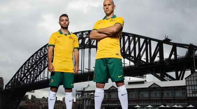 Team Australia Takes a New Home Kit (and Low Expectations) Into World Cup