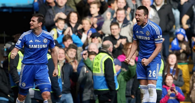 Terry scores game winner for Chelsea